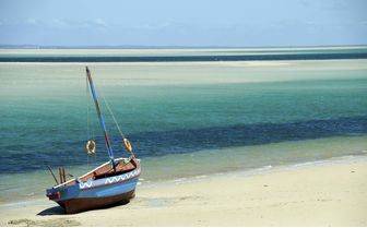 Boat on Beach, Bazaruto