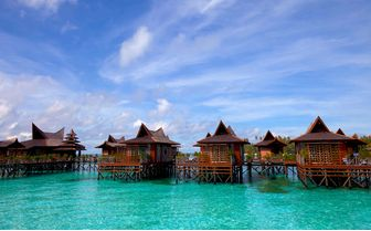 Stilt Houses, Mabul, Borneo