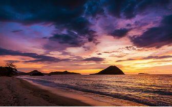 Sunset at Sumbawa