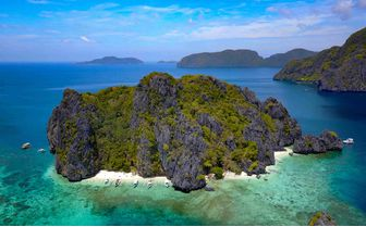 Palawan Island Aerial