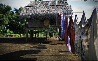 Village in Papua New Guinea
