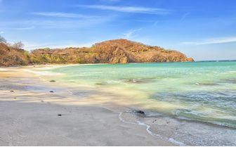 Papagayo sandy beach