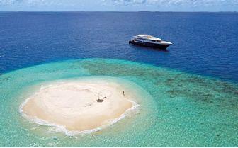 scuba spa desert island