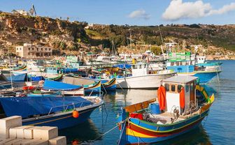 Mgarr port, Gozo