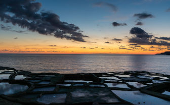 Salt Pans at sunset, Gozo