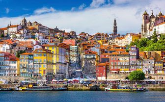 Colourful Porto houses