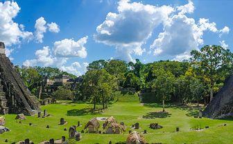 Belize Tikal ruins