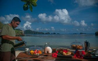 breakfast set up