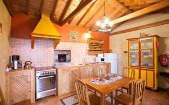 Misterio cottage Kitchen