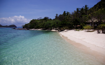 Picture of the Beach at Ariara Island
