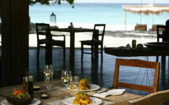 Picture of the dining on North Island