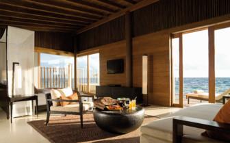 Water villa livingroom