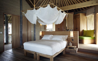 Picture of Water Villa Bedroom Six Senses Resort Laamu
