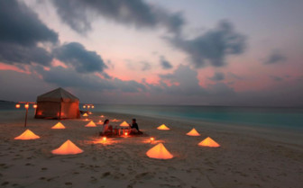 Picture of Beach Dining at Soneva Fushi
