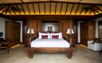 Picture of bedroom in the Great House, Necker Island