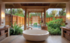 Picture of the beach retreat bathroom, Desroches Island Resort