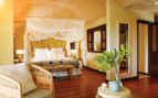 Picture of the beach suite bedroom, Desroches Island Resort