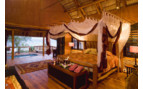 Picture of cabana bedroom at Benguerra Lodge