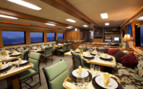 Picture of dining onboard Turks and Caicos Aggressor II