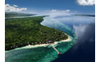 Aerial picture of Wakatobi Dive Resort