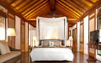 Picture of a bedroom at El Nido Pangulasian Island Resort