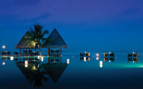 Picture of the Pool Reflections at night at Kuda Huraa