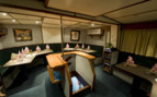 Picture of dining onboard MV FeBrina