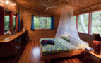 Picture of a cabin bedroom at Lissenung Island Resort