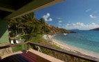 Picture of the beachfront room view at Peter Island