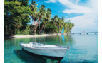 Picture of a boat at Jean Michel Cousteau Resort in Fiji