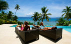 Picture of Taveuni Palms poolside