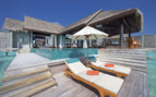 Picture of over water pool villa