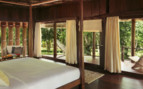 Bedroom at Barefoot at Havelock, luxury hotel in India