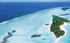 The LUX Maldives From the Air