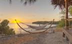 Beachside hammock at Azura Quilalea