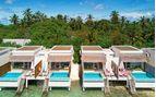 oblu helengeli aerial lagoon villas view