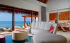 Suite at W Retreat & Spa, luxury hotel in the Maldives
