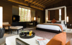 Interior of the park villa at park Hyatt Hadahaa