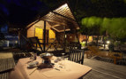 Picture of Villa at Night at Lankayan