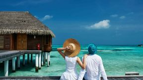 Couple on Honeymoon, Maldives