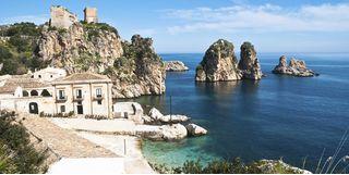 Sicily bay, italy