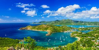 Antigua Harbour, Caribbean