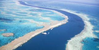 Great Barrier Reef Tidal Channel, Australia