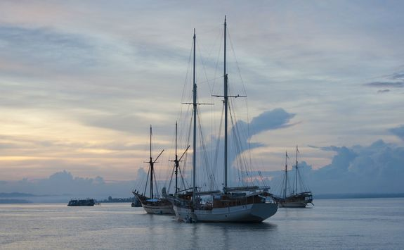 Liveaboards sailing to Raja Ampat in Indonesia