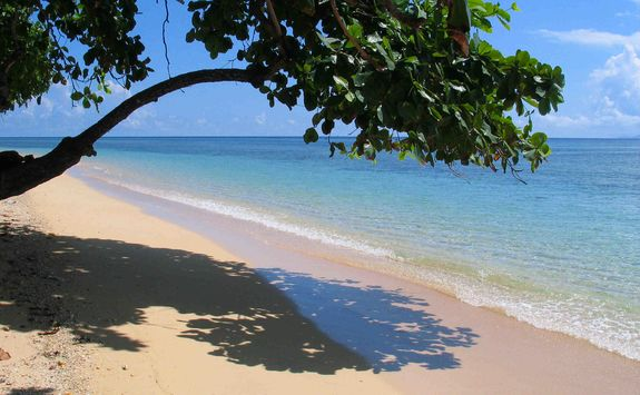 Siladen beach