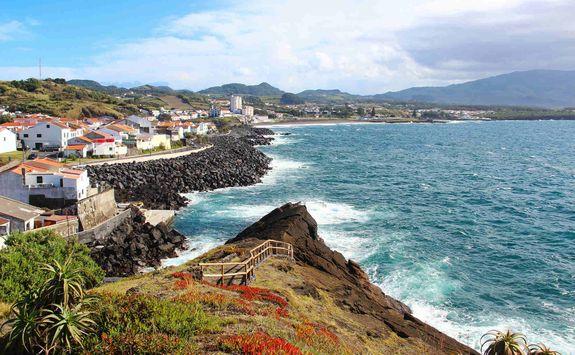 Ponta Delgada cliff