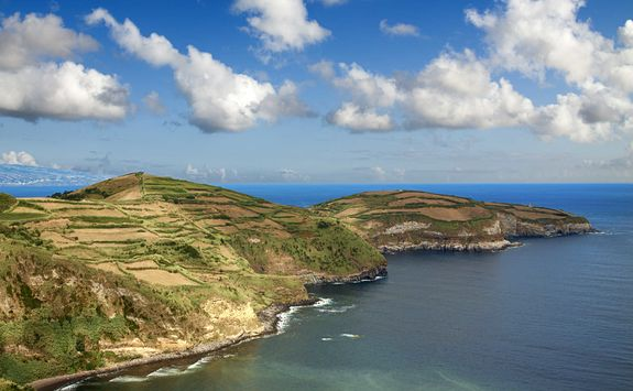 Coastline of Sao Miguel island