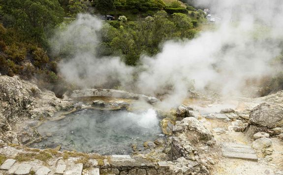 Hot springs of Furnas