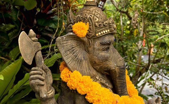 Religious temples Ubud