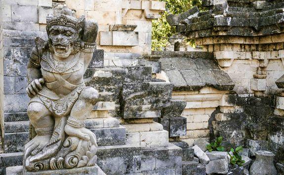 Monkey temple southern bali